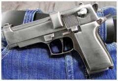 Belt Buckle Gun