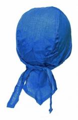 Blau Uni Kinder Bandana Cap