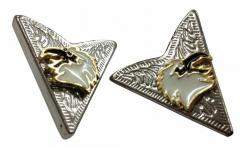 Cowboy Kragenclips - Adler