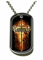 Ensiferum Sword Merchandise Dog Tag