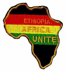 Aufnäher - Ethiopia Africa Unite