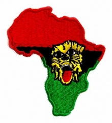 Embroidered Patch - African Pride