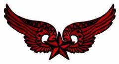Aufnäher - Rote Flügel