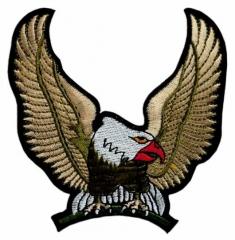 Aufnäher - Goldener Adler