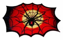 Aufnäher - giftige Spinne