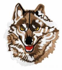 Aufnäher - Brauner Wolf