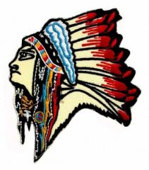 Aufnäher - Indianer