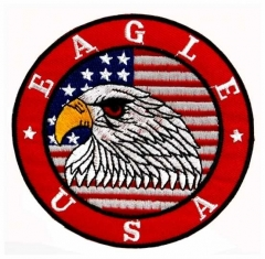 Embroidered Patch - American Eagle