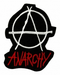 Embroidered Patch - Anarchy