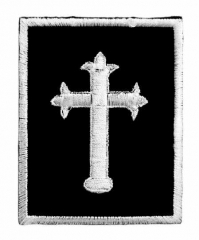 Aufnäher - Kruzifix