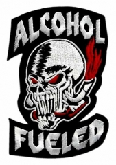 Embroidered Patch - Alcohol Fueled