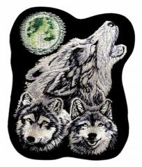 Aufnäher - Heulender Wolf