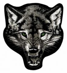Aufnäher - Böser Wolf