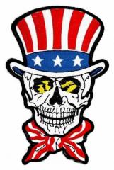 Aufnäher - American Skull
