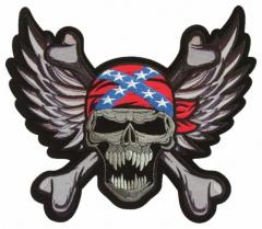 Aufnäher - Confederate Skull