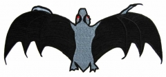 Embroidered Patch - Bat