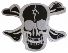 Aufnäher - Black Skull