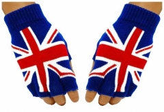 Fingerlose Handschuhe Great Britain