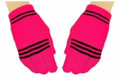 Handschuhe Neon Pink