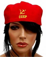 Baskenmütze CCCP