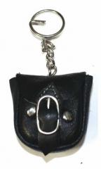 Schlüsselanhänger - Ledertasche