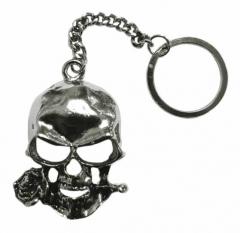 Schlüsselanhänger - Totenkopf