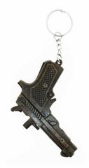 KEX 117 - Schlüsselanhänger - Bronzene Pistole