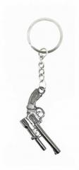 KEX 126 - Schlüsselanhänger - Silberne Pistole