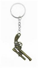 KEX 127 - Schlüsselanhänger - Goldene Pistole