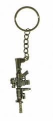 KEX 139 - Schlüsselanhänger - Goldenes Gewehr