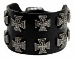 2-reihiges Armband Eisernes Kreuz
