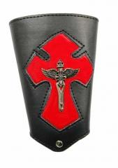 Armband Kruzifix in Rot