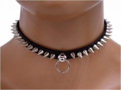 Choker Mini Conenieten & Ring