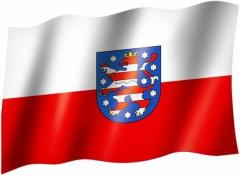 Thüringen - Fahne