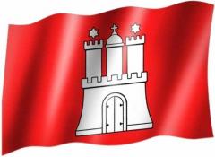 Hamburg - Fahne