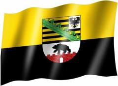 Sachsen Anhalt - Fahne
