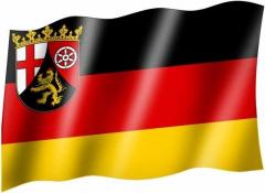 Rheinland Pfalz - Fahne