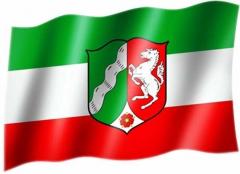 Nordrhein Westfalen - Fahne