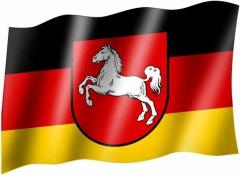 Niedersachsen - Fahne