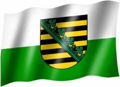 Sachsen - Fahne
