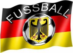 Deutschland Fussball - Fahne