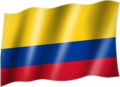 Kolumbien - Fahne