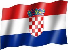 Kroatien - Fahne