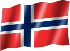 Norwegen - Fahne