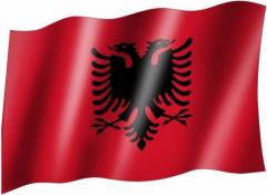 Albanien - Fahne