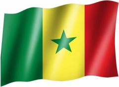 Senegal - Fahne
