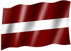 Lettland - Fahne