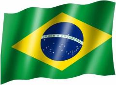 Brasilien - Fahne