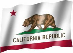 Kalifornien - Fahne