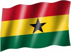 Ghana - Fahne